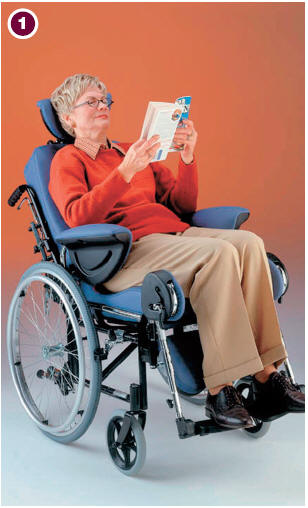 Click to enlarge & AMS u003e Modulo Reclining Wheelchair