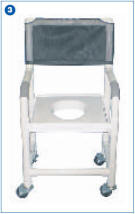AMS Plastic Shower Chairs